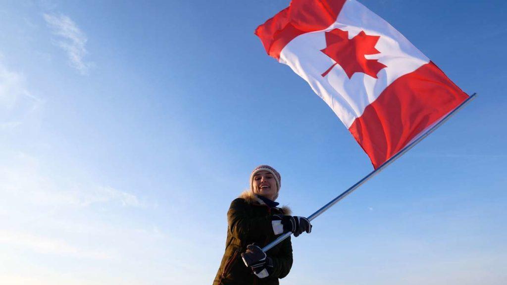 bandera de canada actual